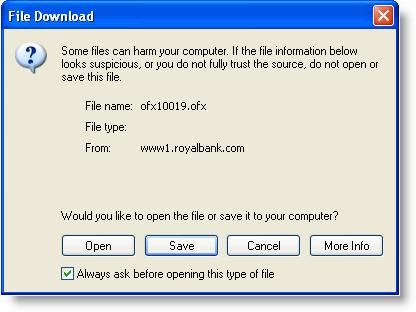 Ofx File Fields